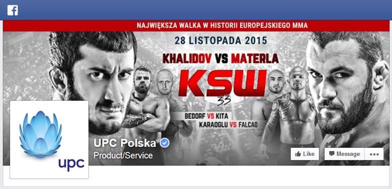 UPC na Facebooku