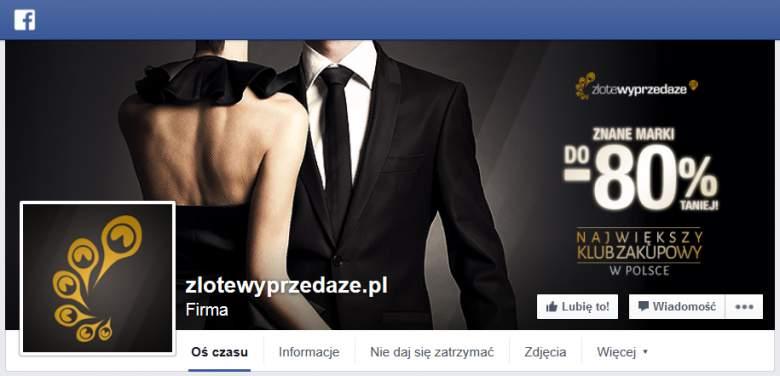 Złote Wyprzedaże na Facebooku