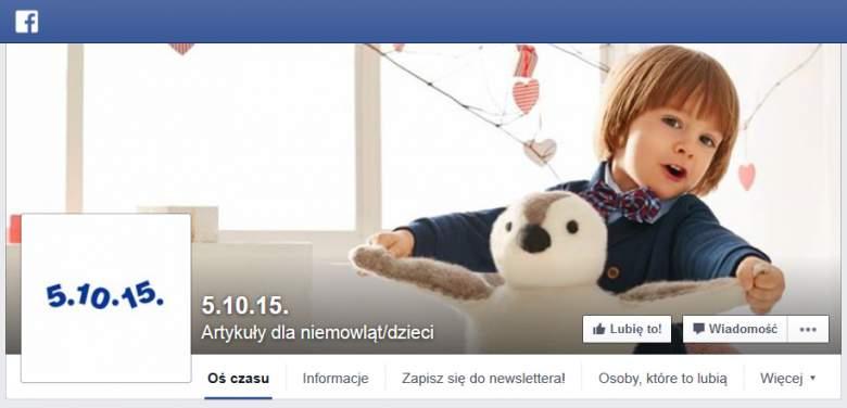 5 10 15 na Facebooku