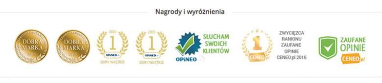 Nagrody i wyróżnienia sklepu Garneczki.pl