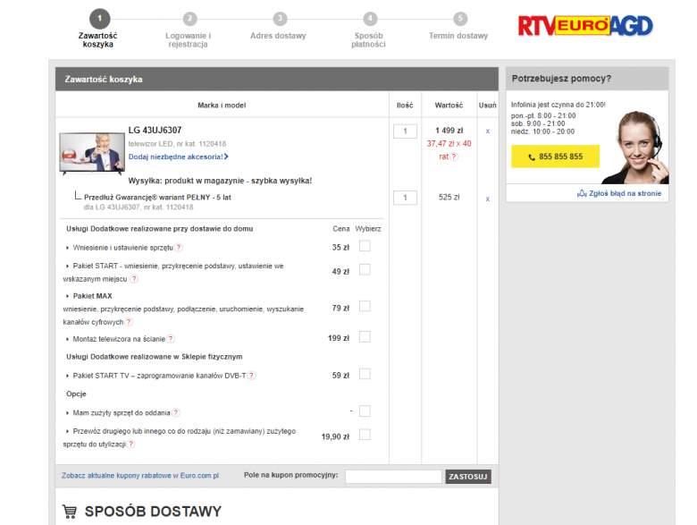 ebc0cdd15aab94 Informacje na temat obniżek i wyprzedaży znajdziemy też na stronie sklepu.  Warto być czujnym i kupić telewizor taniej, prawda?